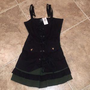 Punk Rock Mini Dress
